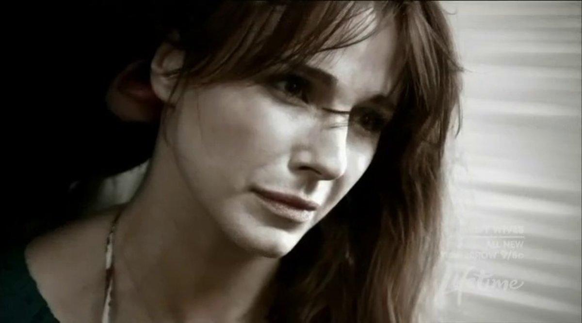 La actriz Lisa Sheridan.