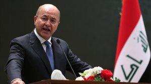 El nuevo presidente iraquí, el kurdoBarham Saleh.