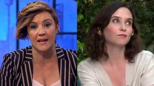 """Cristina Pardo, a Isabel Díaz Ayuso: """"No me gusta que me digan lo que tengo que preguntar"""""""