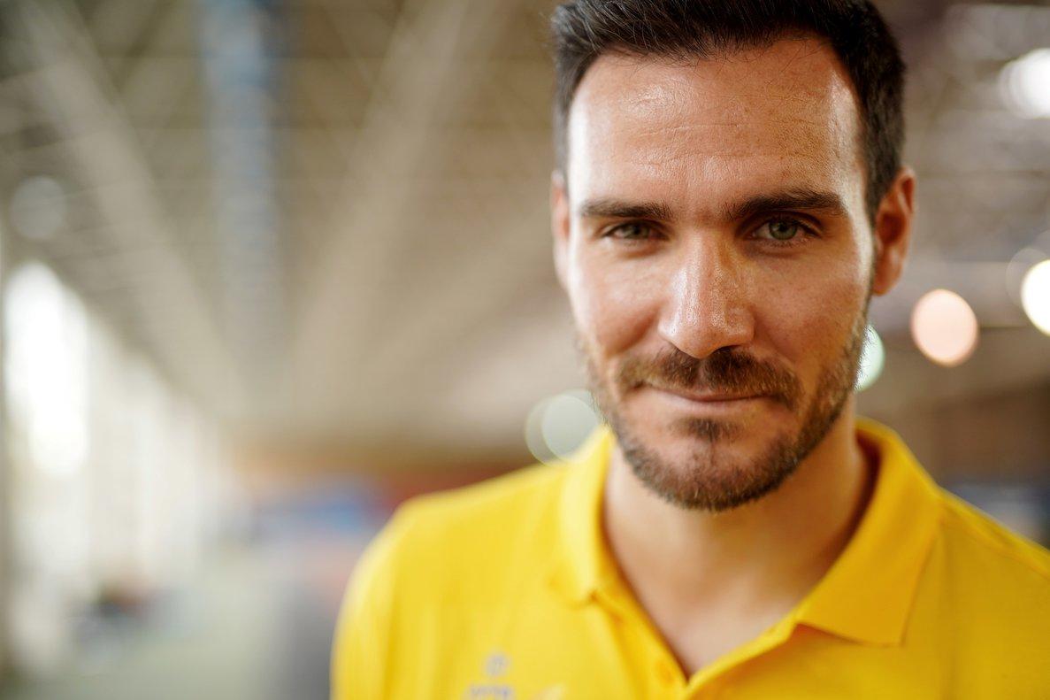 El piragüista olímpico Saúl Craviotto.