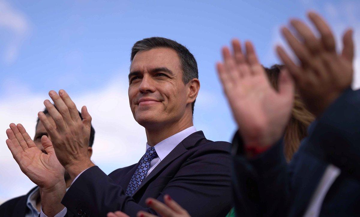 El presidente en funciones y candidato del PSOE, Pedro Sánchez.