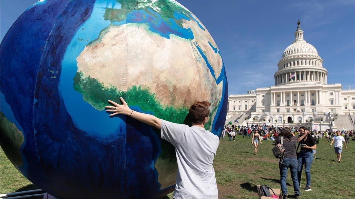 Protestas en Nueva York contra el cambio climático, el pasado 20 de septiembre.