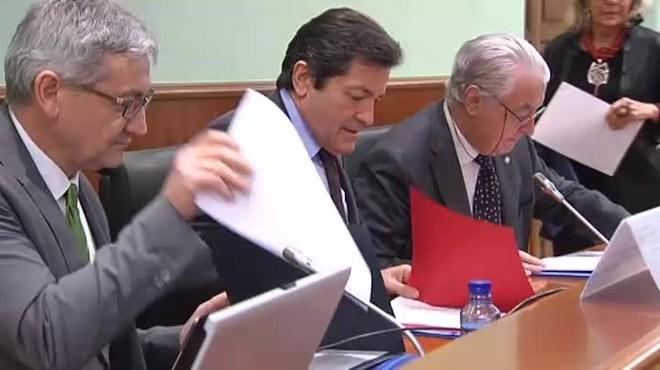 Mediante una carta, la gestora del PSOE ha expresado su rechazo a la moción de censura que ofrece Podemos.
