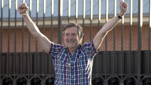 L'exdirigent del sindicat LAB, en llibertat després de sis anys de presó.
