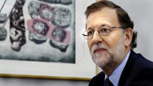 """Rajoy: """"Tots volem pensions millors, però s'ha de fer sense enganyar la gent amb promeses incomplibles"""""""