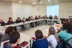 Reunión de la Taula local de Capacitats Diverses i Accessibilitat de Terrassa.