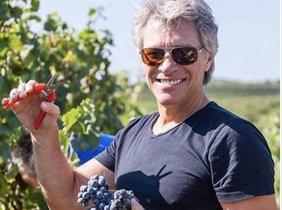 El vino rosado de Bon Jovi se convierte en el mejor del mundo.