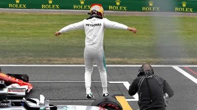 Hamilton, a frec del fantàstic rècord de 'poles' de Schumacher