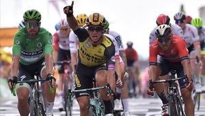 L'holandès Groenewegen s'imposa en la setena etapa del Tour