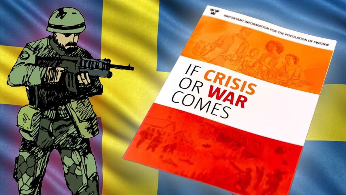 ¿Sabrías sobrevivir a una guerra? Suecia enseña a sus ciudadanos a hacerlo con un intrigante panfleto.