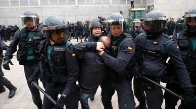 """El fiscal denuncia al juez que vio """"terrorismo policial"""" el 1-O"""