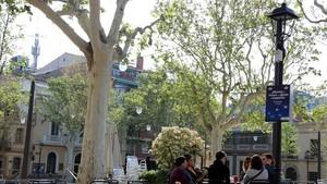 Sant Cugat instala farolas inteligentes que se encienden si hay mucho ruido