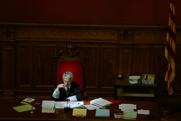 El juez Santi Vidal, en una foto de archivo.