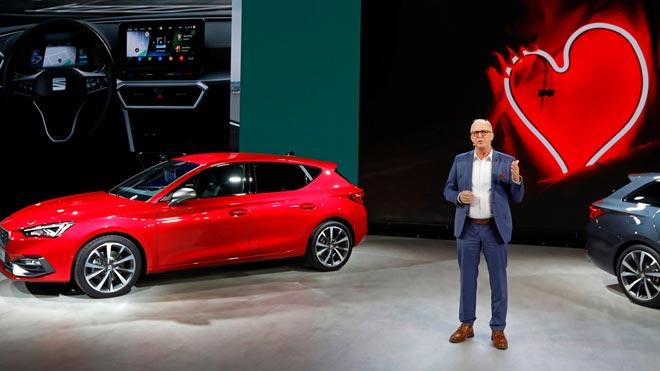 SEAT presenta el nuevo SEAT León con una inversión de 1.100 millones.