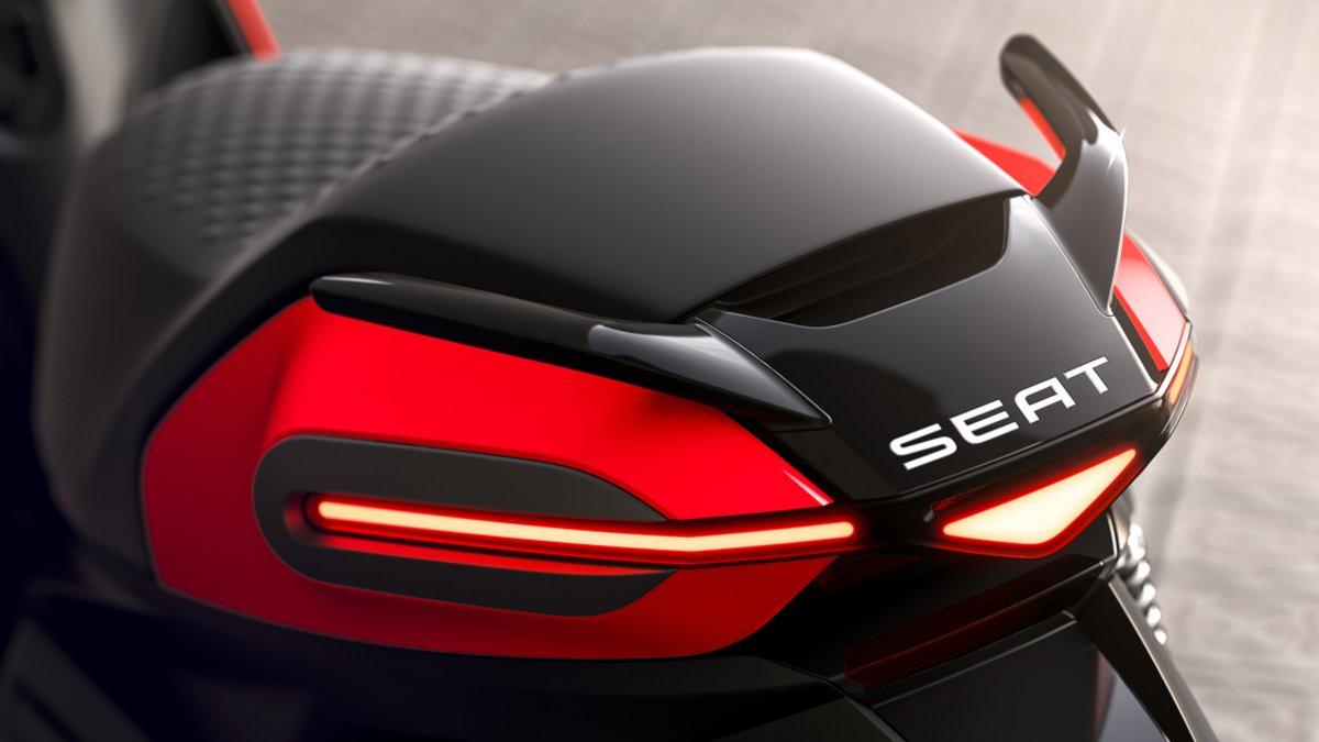 La marca anuncia su moto 100 % eléctrica — SEAT eScooter