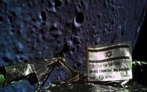La nave espacial israelí Beresheet en su misión lunar.