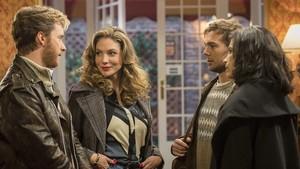 Grabación de la nueva temporada de la serie de TVE-1 Cuéntame cómo pasó.