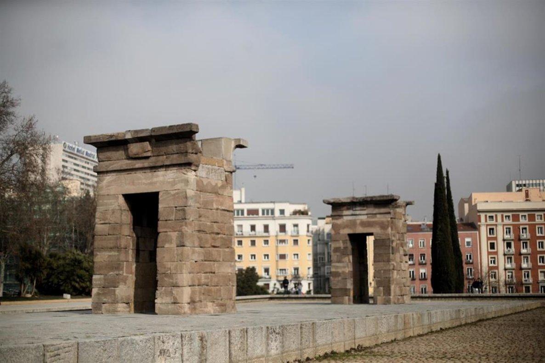 El Templo de Debod.