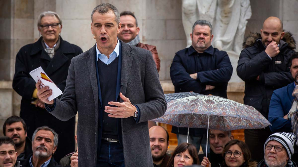 Toni Cantó se presentará a las primarias de Ciudadanos para ser candidato a la Generalitat valenciana.