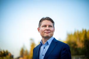 Topi Manner, nuevo consejero delegado de Finnair.