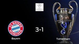 Triunfo 3-1 del Bayern de Múnich frente al Tottenham Hotspur