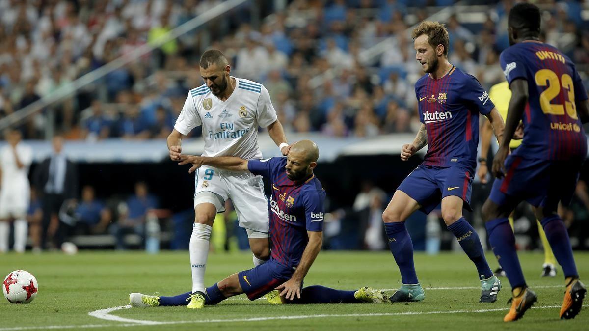 La última Supercopa de España, Madrid-Barça.