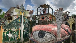 Una imagen del barrio de Jaimanitas de La Habana, donde está el proyecto del artista José Fuster.