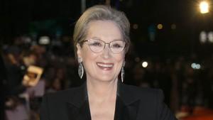 Meryl Streep, en elestreno de la película Los archivos del Pentágono, enLondres.