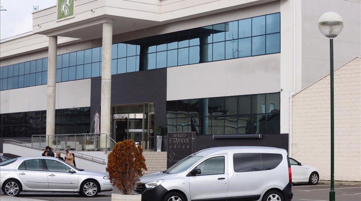 Tanatorio del Grupo Salvador en Valladolid.