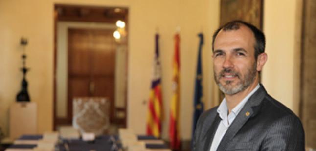 El vicepresidente del Gobierno balear, Biel Barceló.