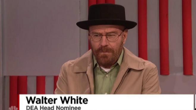 Bryan Craston resucita a Walter White en 'Saturday Night Live'.