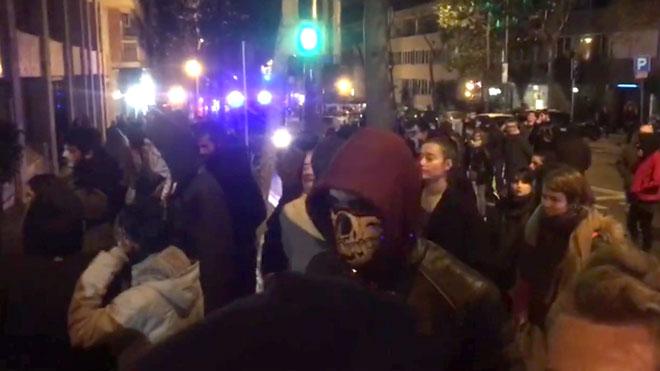 Arran i els CDR boicotegen un acte de Vox a Barcelona