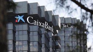 Las oficinas centrales e CaixaBank, en Barcelona.