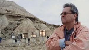 Terry Gilliam, durante el rodaje de El hombre que mató a Don Quijote.