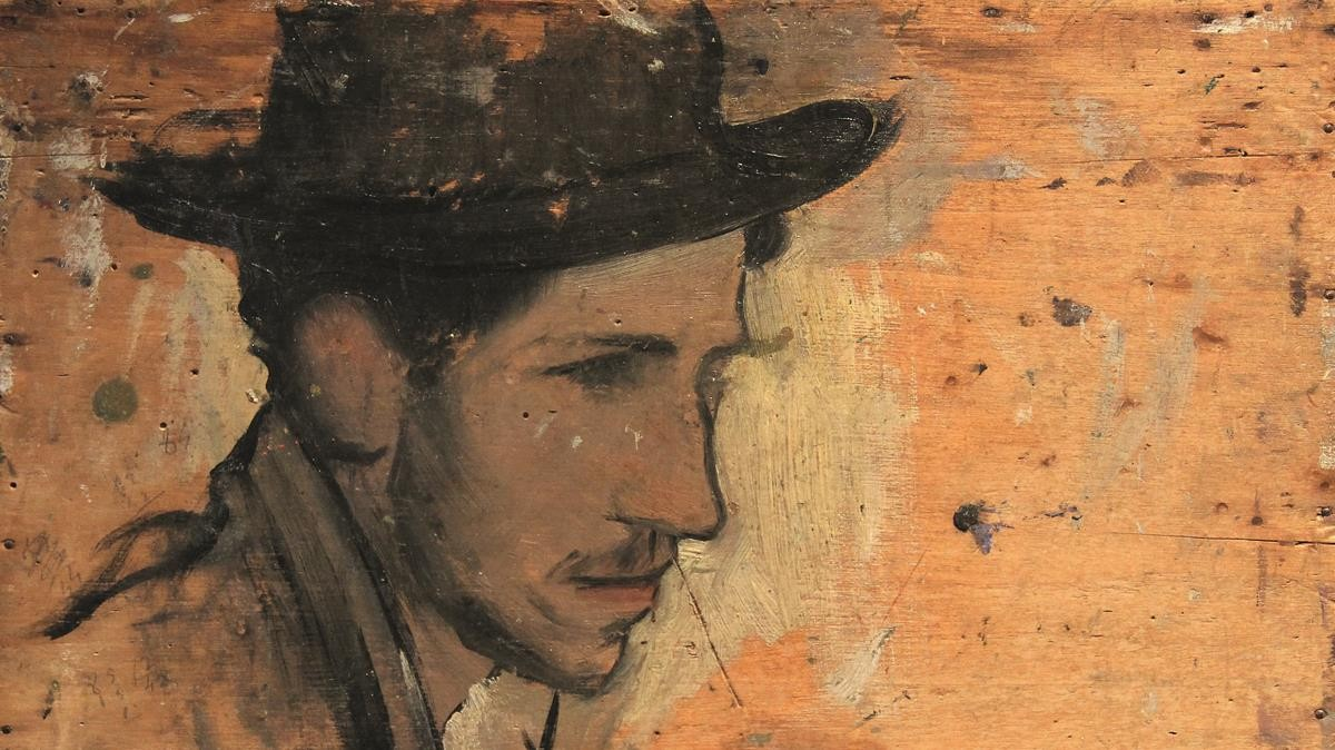Autorretrato (1897), de Alexandre de Cabanyes.