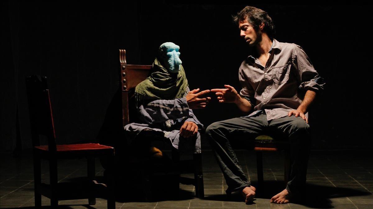 Una escena de 'El meu nom és Hor', de la compañía Psirc.