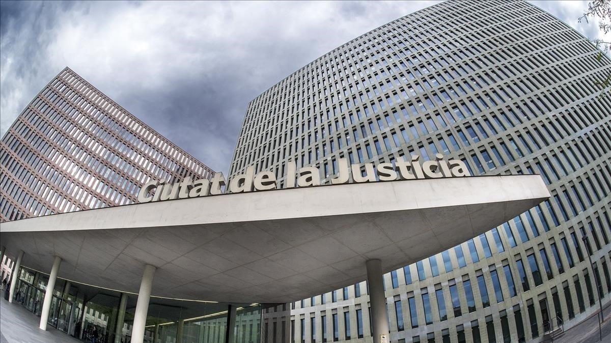 Ciutat de la Justícia de Barcelona.
