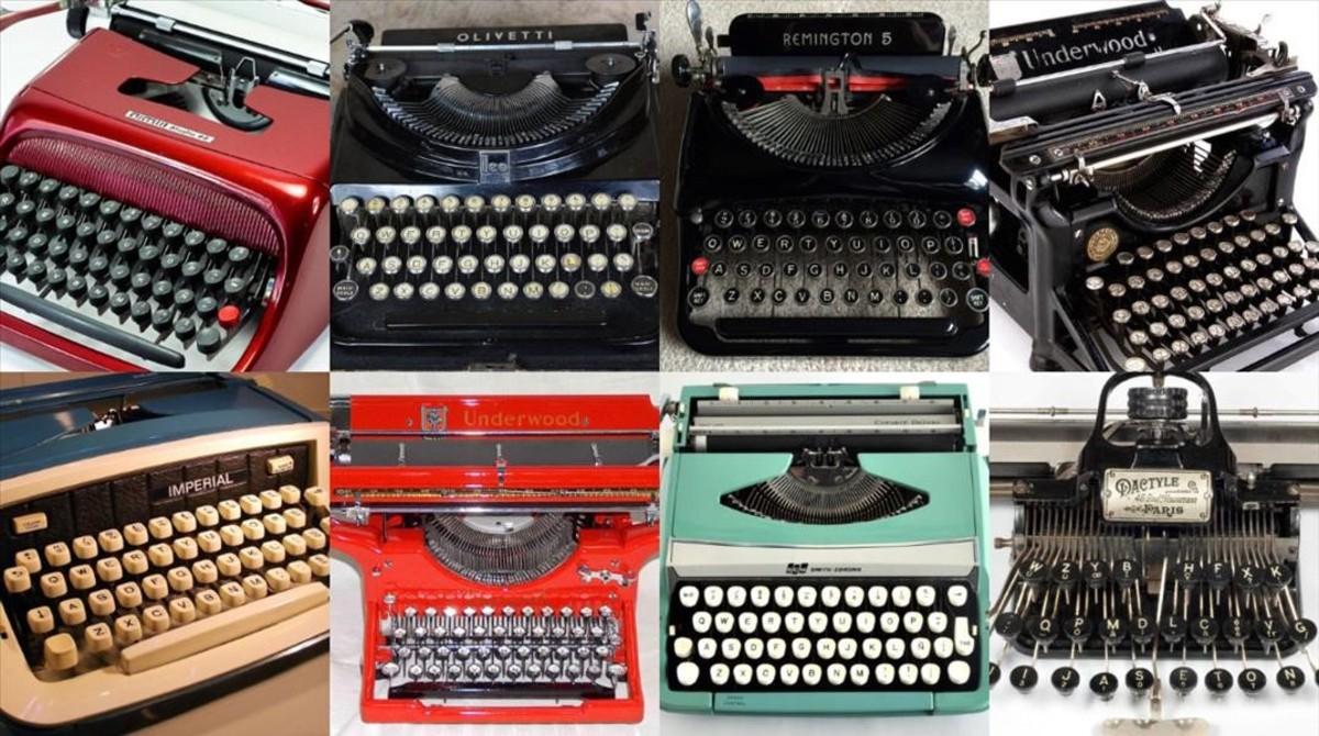 La máquina de escribir: un invento que nació por amor