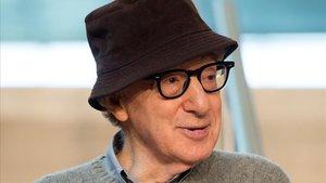 Woody Allen, en San Sebastián, en julio del 2019.