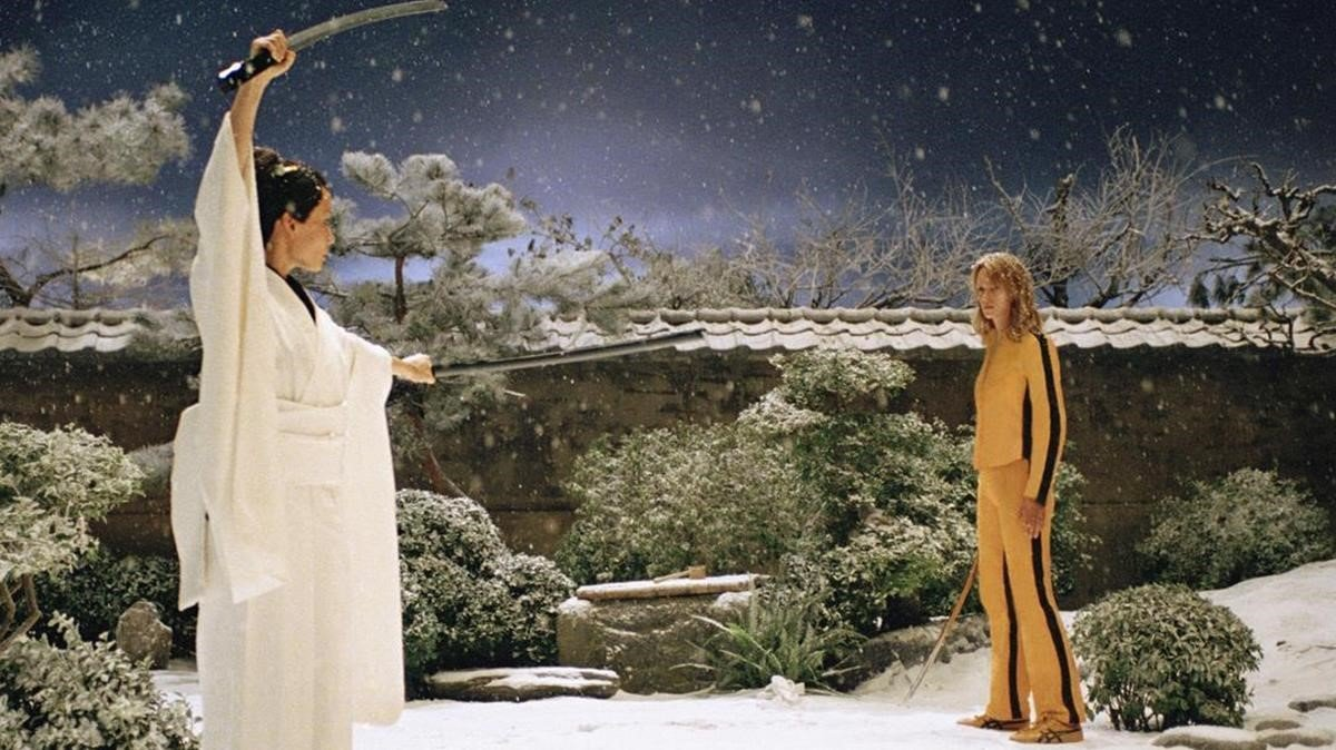 Lucy Liu y Uma Thurman, en 'Kill Bill Vol. 1'.
