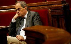 Torra demana normalitzar l'ús del català «per prestigiar-lo»