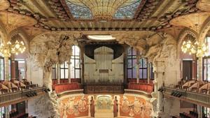 Domènech i Montaner li disputa el tron del modernisme al seu alumne Gaudí