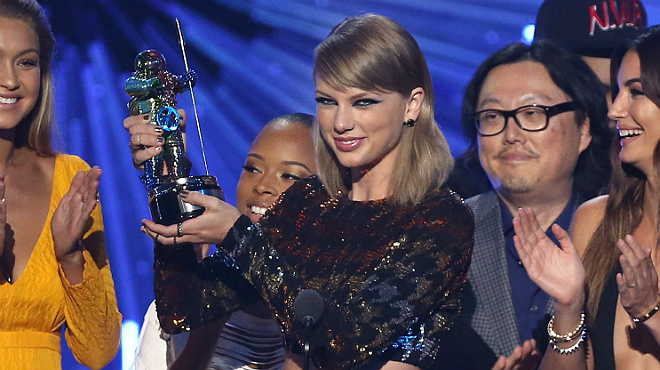 Taylor Swift, reina dels MTV Video Music Awards