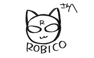 Autorretrato de la autora de manga Robico.