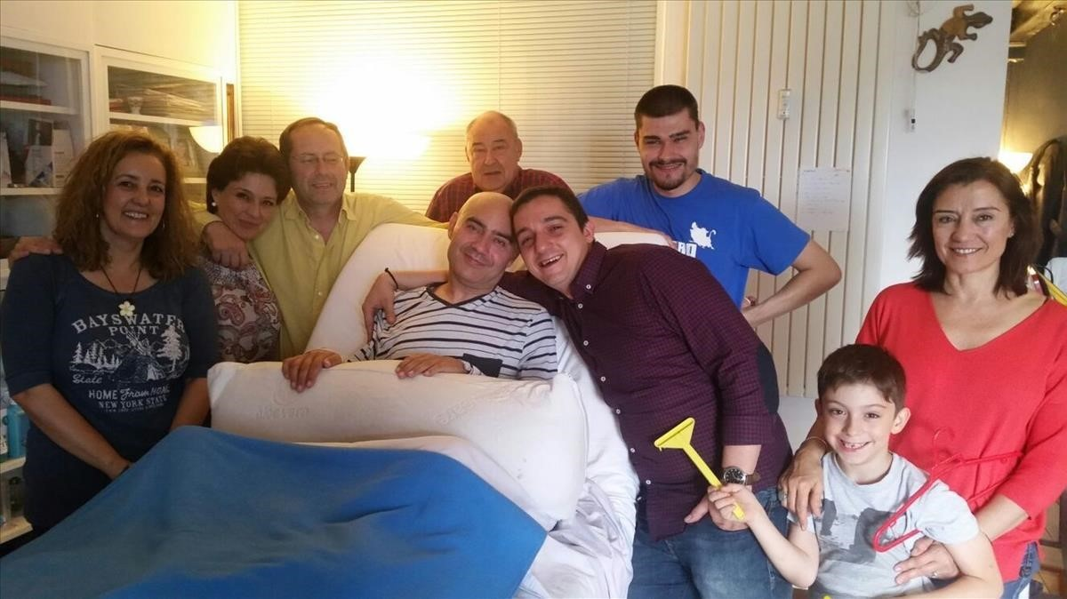 Luis de Marcos, el enfermo de esclerosis múltipleque luchó para que se legalizara la eutanasia en España.