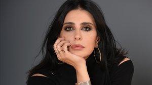 La actriz y directora libanesa Nadine Labaki, fotografiada en el festival de Palm Springs, California, el 7 de enero