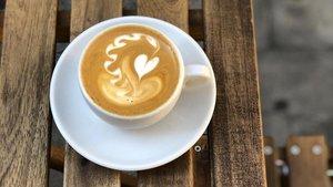Una taza de Dalston Coffee.
