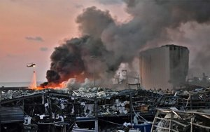 L'explosió al port de Beirut va ferir desenes de cascos blaus de l'ONU