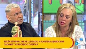 ¿Ha pensado Belén Esteban en dejar 'Sálvame' tras su bronca con Jorge Javier?