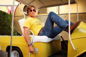 Brad Pitt, en la película de Tarantino 'Érase una vez... en Hollywood' .